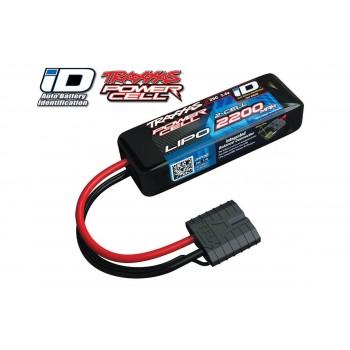 Аккумулятор Traxxas 2200mah 7.4v 2-Cell 25C LiPO Battery (iD Plug) - TRA2820X
