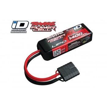 Аккумулятор Traxxas 1400mah 11.1v 3-Cell 25C LiPO Battery (iD Plug) - TRA2823X