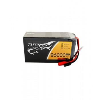 Аккумулятор Li-Po - 22.2В 26000мАч 25C (6S, универсальный разъем) - TA-25C-26000-6S1P