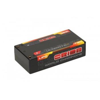 Аккумулятор Team Orion Batteries Ultimate Graphene HV Lipo 7.6 V (2s) 5800mAh 120C Hard Case Tubes - ORI14503