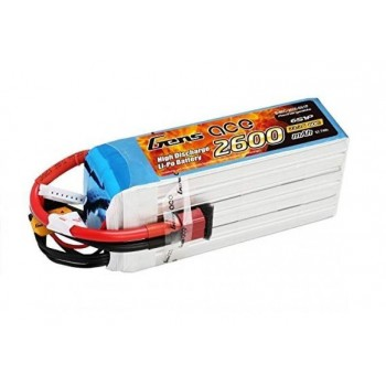 Аккумулятор Li-Po - 11.1В 2600мАч 60C (3S1P) XT-60