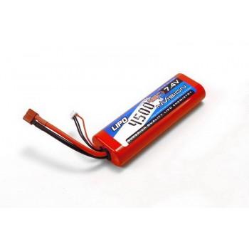 Аккумулятор nVision LiPo 7.4V 2S 45C 4500 mAh - NVO1109