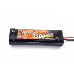Аккумулятор NiMh - GensAce 7.2В 3300мАч (Tamiya) - GA-SC3300-NiMH