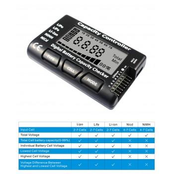 Тестер аккумуляторов универсальный (до 7S) - EV-CM