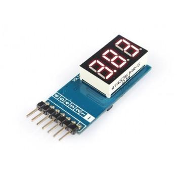 Индикатор напряжения для 6S Lixx аккумуляторов - EV-VM