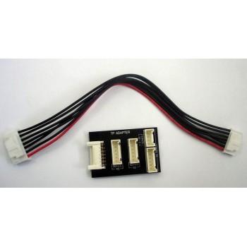 Балансировочный разъем Li-Po с кабелем HUB | 4 in 1 (TP Adapter) - AM-1252
