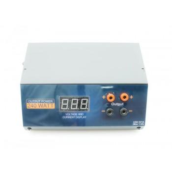 Блок питания GTP-38 15V 16A Power supply