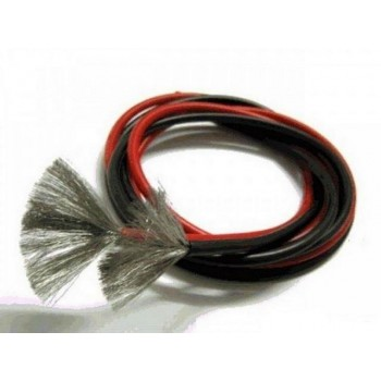 Силиконовый провод Silicone Wire AWG 24 красный 1м|0.205кв.мм - LC-AWG24-R