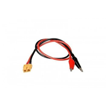 Разъем-переходник для зарядки аккумуляторов XT60 to Crocodile clip - UP-XT-Croco