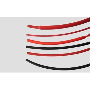 Термоусадочная трубка 6 мм красная (1 м) - AM-1041-6R