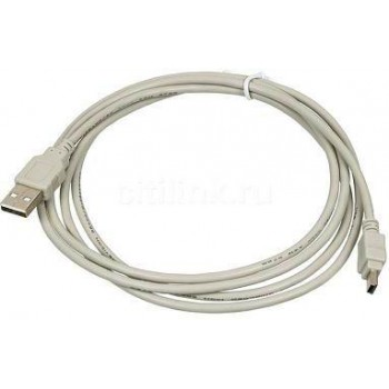 Кабель Mini USB - USB 2.0 (1.8м) - 30157