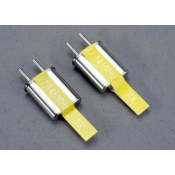 Кварц Crystal set, 4 канальный, желтый, 27.145 MHz
