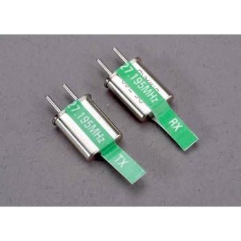 Кварц Crystal набор, 5 канальный, зеленый, 27.195 MHz