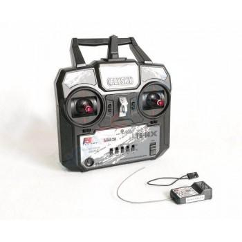 Радиоаппаратура FlySky i4x (4 канала) с приемником А6 (6 каналов) 2.4гГц - FS-I4X+A6