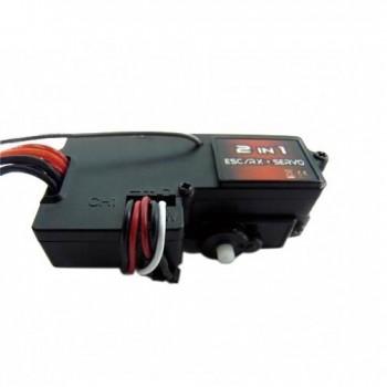 Приемник Iron Trak 3в1 Серво|Регулятор|Приемник (E18 - Коллекторные) - IT-HTX-243RES