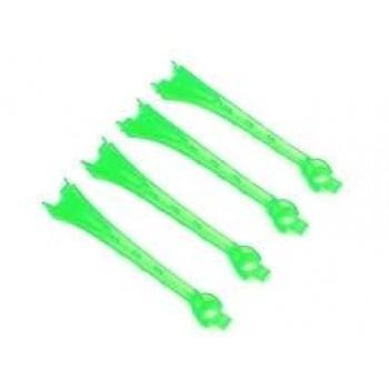 Прозрачные накладки для светодиодов квадрокоптера зелёные (4 шт.) - TRA6654