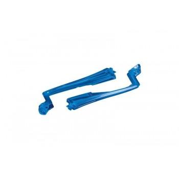 Нижние крышки задних лучей, синие - TRA7957