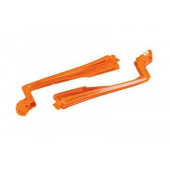 Нижние крышки задних лучей, оранжевые - TRA7958