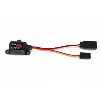 Выключатель бортовой с защитой SKYRC (NiHM или LiPo) - SK-600054-01