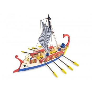 Сборная деревянная модель корабля Artesania Latina AVE CAESAR (ROMAN SHIP) - AL30508