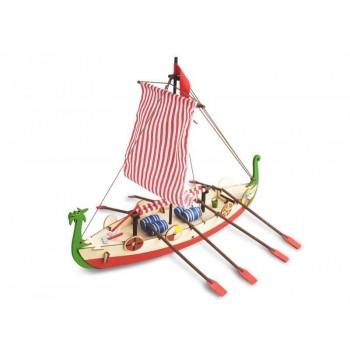 Сборная деревянная модель корабля Artesania Latina DRAKKAR (VIKING BOAT) - AL30506