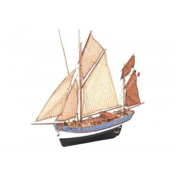 Сборная деревянная модель корабля Artesania Latina MARIE JEANNE, масштаб 1:50 - AL22170