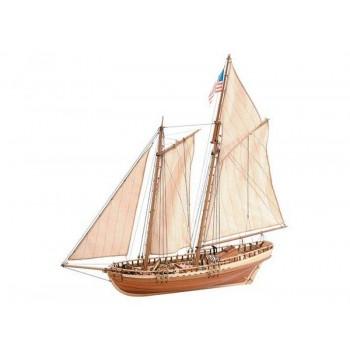 Сборная деревянная модель корабля Artesania Latina VIRGINIA AMERICAN SCHOONER, масштаб 1:41 - AL22135