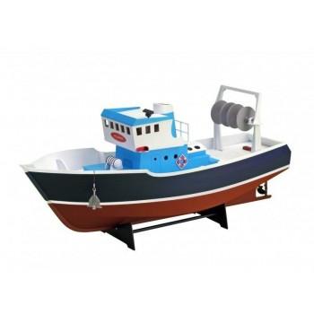 Собранная деревянная модель рыболовецкого судна Artesania Latina *ATLANTIS* (Build|Navigate series), масштаб 1:15 - AL30531-BUILT