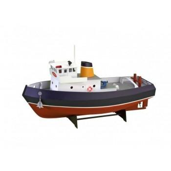 Собранная деревянная модель корабля Artesania Latina Tugboat *SAMSON* (Build|Navigate series), масштаб 1:15 - AL30530-BUILT