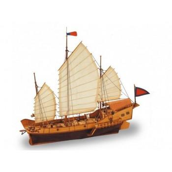 Сборная деревянная модель корабля Artesania Latina RED DRAGON - CLASSIC COLLECTION, масштаб 1:60 - AL18020