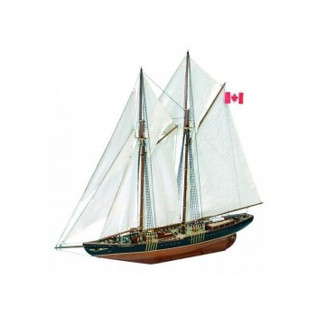 Сборная деревянная модель корабля Artesania Latina BLUENOSE II, масштаб 1:75 - AL22453