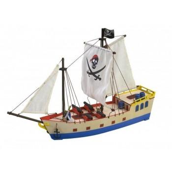 Собранная деревянная модель корабля Artesania Latina PIRATE SHIP BUILT - AL30509B