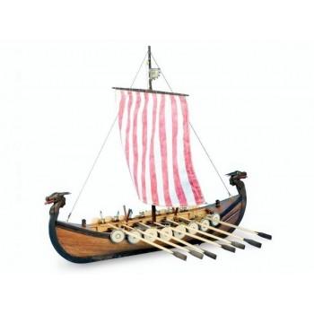 Сборная деревянная модель корабля Artesania Latina NEW VIKING, масштаб 1:75 - AL19001-N