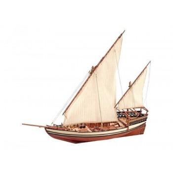Сборная деревянная модель корабля Artesania Latina SULTAN ARAB DHOW, масштаб 1:41 - AL22165