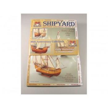 Сборная модель Shipyard Великие открытия Колумба (№64,№65), масштаб 1:96 - MKJ001