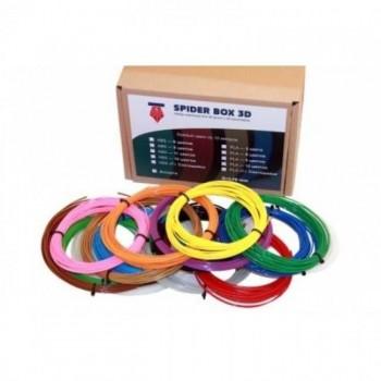 ABS Myriwell пластик для 3D ручек (9 цветов по 10 метров, d=1.75 мм) - ABS9|10