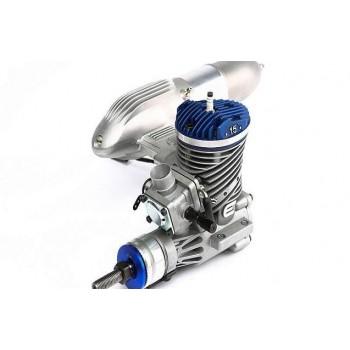 Бензиновый двигатель 15GX (15 куб. см) с глушителем - EVOE15GX2
