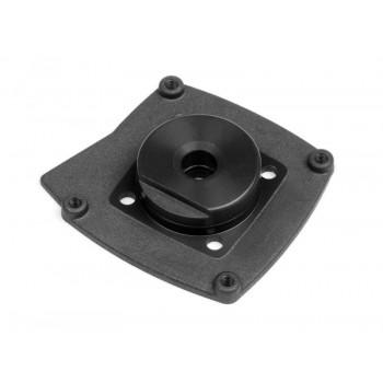 Крышка картера двигателя (BLACK|T3.0) - HPI-15153