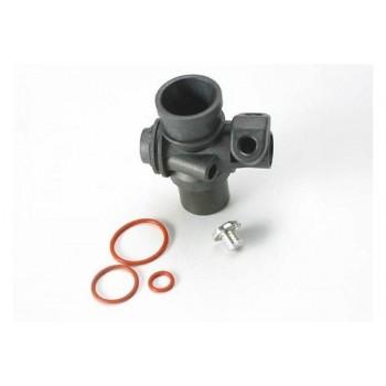 Корпус карбюратора, штуцер и силиконовые кольца (TRX 2.5, 2.5R) - TRA5234