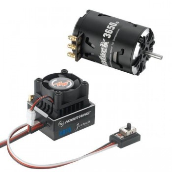 Бесколлекторная сенсорная система Xerun COMBO XR10 JS6 Black G2 для моделей масштаба 1:10 - HW-COMBO-XR10-JS6-Black-G2