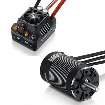 Бессенсорная бесколлекторная система Ezrun COMBO MAX10 SCT 3660SL 4000KV для масштаба 1:10 - HW-COMBO-MAX10-SCT-3660SL-4000KV