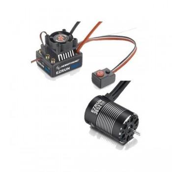 Бессенсорная бесколлекторная система Ezrun COMBO MAX10 3652SL 3300KV для масштаба 1:10 - HW-COMBO-MAX10-3652SL-3300KV