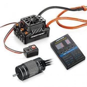 Бесколлекторная система Ezrun COMBO MAX8 TRX PLUG для моделей масштаба 1:8 - HW-COMBO-MAX8-TRX-PLUG