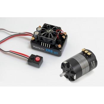 Бесколлекторная сенсорная система Xerun COMBO XR8 SCT 3652SD D5.0 A для моделей масштаба 1:10 - HW-COMBO-XR8-SCT-3652SD-D5.0-A