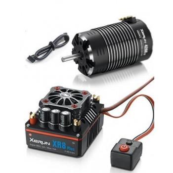 Бесколлекторная сенсорная система Xerun COMBO XR8 Plus 4268 C для моделей масштаба 1:8 - HW-COMBO-XR8-Plus-4268-C