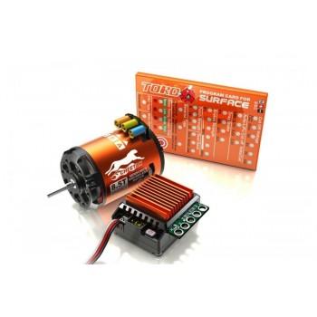 Бесколлекторная система SkyRC TORO 10 S60 60A ESC Combo Set (3250KV) (Sensered) - SK-300058-02