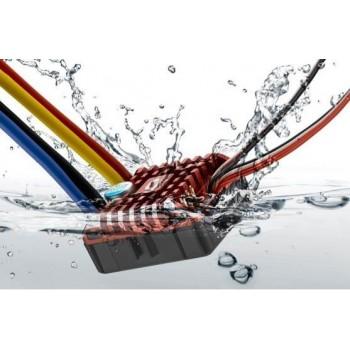 Коллекторный влагозащищенный регулятор QuicRun WP Crawler Brushed для масштаба 1|8, 1|10 - HW-QuicRun-WP-Crawler-Brushed