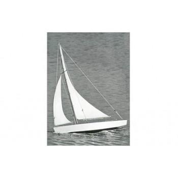 Модель яхты Dumas Ace Sloop 43см (набор для сборки)