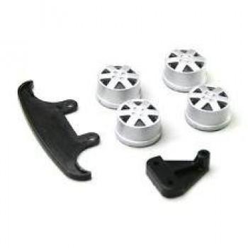 Колпаки на диски и комплект бампера для MINI-Z Lit - LTH002