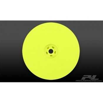 Диски багги 1|10 - Velocity 2.2* Hex Rear Yellow (2шт) for 22, RB5 and B4.1 with 12mm hex - PL2736-02